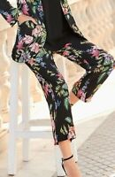 Together Floral Trousers Black New  From Kaleidoscope New Size 16