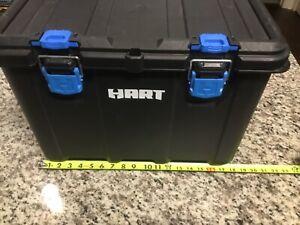 HART Stack System Mobile Tool Storage Organization Black & Blue Base Only