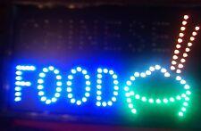 LED  FLASHING  CHINESE FOOD shop signs