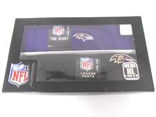 Baltimore Ravens NFL Ray Rice Polyester T-Shirt, Lounge Pants Sleep Set Boys XL