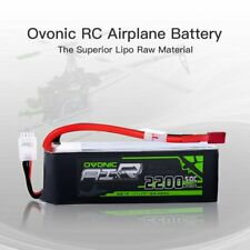 Ovonic  2200mAh 3S 11.1V 50C RC Lipo Battery For Helicopter Airplane Drone Deans