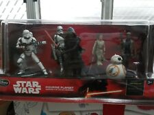 Disney Exclusive Star Wars The Force Awakens 6-Figure PVC Playset