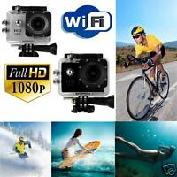 Wifi 12MP HD 1080P Car Bike Helmet Cam Sports DV Action Waterproof Camera SJ4000