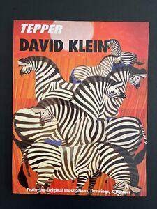 DAVID KLEIN - ESTATE & TWA POSTER ARTWORK |  2008 Tepper Auction Catalog
