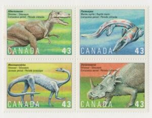 """CANADA, 1993, """"PREHISTORIC LIFES""""  STAMP SET MINT NH FRESH CONDITION"""