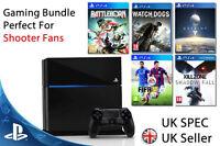 Playstation 4 Console (PS4) 5 Games Bundle PAL UK Bargain FIFA DESTINY WATCHDOGS