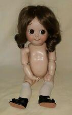 Vintage Reproduction Googly Jdk Kestner Bisque Head Doll Seeley Body $66.66