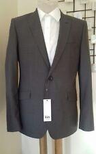 Biscuit Brown/Grey Kroft Plainweave Slim Suit Jacket/Blazer Kin BNWT 38 Regular