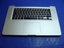 "MacBook Pro A1286 15"" 2011 MC721LL/A Top Case AZERTY Keyboard Trackpad 661-5854"