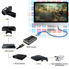 1080P HDMI to USB 3.0 Video Capture Live Video Streaming for XBOX one PS3 PS4 TV