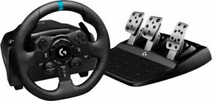 Logitech G923 Racing Wheel and Pedals for PS5, PS4 and PC (IL/RT6-14969-941-0...