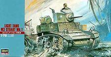 Hasegawa 1/72 M3 Stuart Mk 1 Light Tank HSG31103