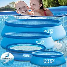 Intex Swimming Pool rund easy Schwimmbad Schwimmbecken Ersatzpool Planschbecken