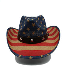 beae9c6186 Hombres Mujeres sombreros de paja Vaquero Occidental Ala Ancha Fedora Sombreros  Gorras Sombrero Panamá