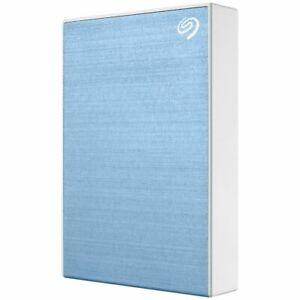 Seagate 4TB Backup Plus Portable Hard Drive Blue