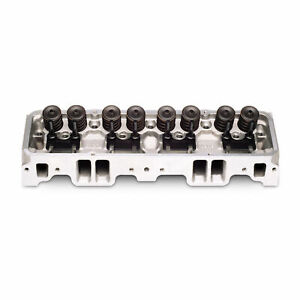 Edelbrock 60759 Cylinder Head Single Complete SB Chevy 70cc
