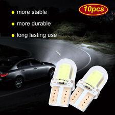 10pcs Veilleuses LED W5W T10 Canbus ANTI ERREUR 8 COB 8000k XENON voiture moto