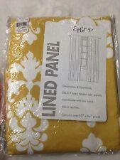 Split P Janette Lined Hidden Tab Panel Floral Curtain Drapery 50 X 84 #2810-049