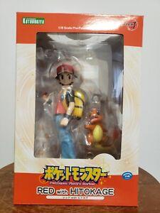 Kotobukiya - Artfx J Pokemon Red with Charmander 1/8 Figure