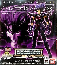 Saint Cloth Myth EX Cancer Deathmask Surplice Dark Cloth Cavalieri Dello Zodiaco