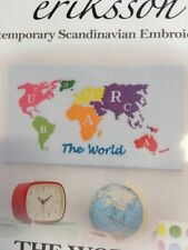 Anette Eriksson World Map Counted Cross Stitch Kit
