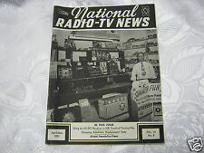National Radio News 1951 tube vintage electronics magazine Burgess