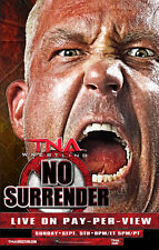 Official TNA Impact Wrestling 38 x 24 inch No Surrender 2010 PPV Poster