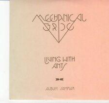 (DI206) Mechanical Bride, Living With Ants sampler - 2011 DJ CD