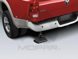 09-14 Dodge Ram Trucks New Bed Step Corner Black Mopar Factory Oem 82212091AB