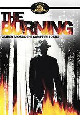 The Burning (DVD, 2007, Dual Side) RARE 1981 HORROR THRILLER BRAND NEW