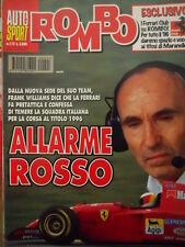 Auto & Sport ROMBO 1-2 1996 Mc Laren stradale XP1 LM - Allarme rosso Ferrari