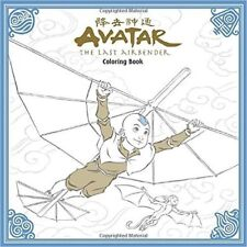 AVATAR THE LAST AIRBENDER Adult Coloring Book Dark Horse Nickelodeon SC