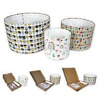 Lampshade Kits - Make Your Own Lampshades - 20cm,30cm,40cm Diameter Drum