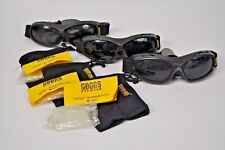 LOT 3 Guard Dogs GOGS EVADER 1 Distressed Goggles w/NEW Clear FogStopper Lenses