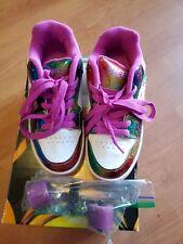 Heelys Motion Plus 770631 Girls Youth Size 3 Rainbow