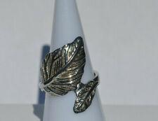 L18 Citrine anillo oval esmerilado 925 plata con 2 zirkonias a la página tamaños Div.