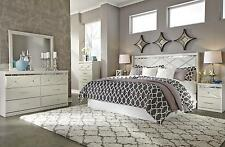B351 Dreamur 4 PCS King Cal King Panel Headboard Bedroom Set