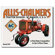 Sign - Allis Chalmers Model WC Man Cave Farm Garage Shed Tool Room Mens Gift