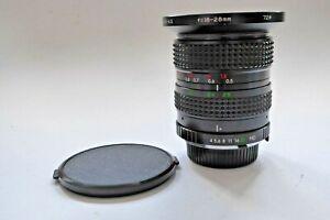 Sirius 18-28mm F4/4.5 MC Minolta MD Mount Super Wide Angle Lens Manual Focus
