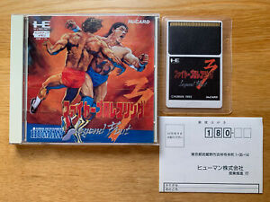 NEC FIRE PRO WRESTLING 3 JP PC Engine Duo TurboGrafx 16 Turbo Grafx 16 COMPLETE!