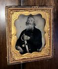 64 Year Old Confederate ! Armed Civil War Soldier AC Morton Mississippi Cavalry