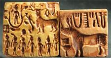 CLASSIC INDUS VALLEY STAMP SEALS #2 Harappa 2500 BC museum replicas