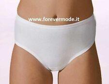 6 Slip culotte da bambina Antonella in puro cotone con cuciture piatte art 5403