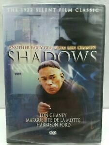 SHADOWS (1922) Silent Film Classic Lon Chaney -Brand New Sealed