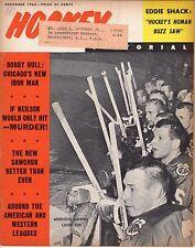 1963 (Dec.) Hockey Pictorial Magazine Pierre Pilote, Chicago Blackhawks ~Fair ML