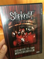 Slipknot - Welcome To Our Neighborhood region 4 DVD (heavy metal music)