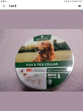 Dewel Flea Tick Control Collar 2 pack.Small Large Dog 8 Month Sealed