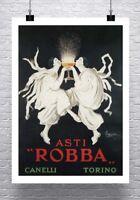 Asti Robba Vintage Leonetto Cappiello Poster Canvas Giclee Print 24x32 in.