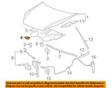 Chevrolet GM OEM 06-13 Impala-Hood Rubber Bumper Cushion 15837687