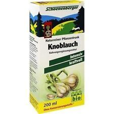KNOBLAUCH NATURREINER Pflanzentr.Schoenenberger 200ml PZN 1159487